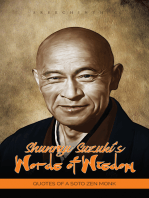 Shunryu Suzuki's Words of Wisdom