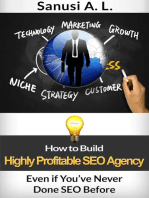 How to Build Highly Profitable SEO Agency Even if You've Never Done SEO Before