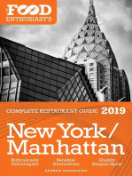 New York / Manhattan - 2019 - The Food Enthusiast's Complete Restaurant Guide