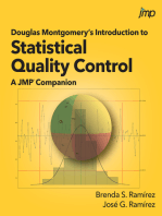 Douglas Montgomery's Introduction to Statistical Quality Control: A JMP Companion