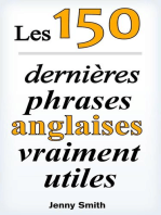Les 150 dernières phrases anglaises vraiment utiles