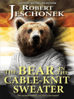 The Bear in the Cable-Knit Sweater