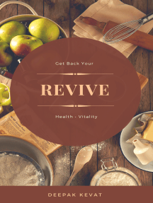 Revive: Get Back Your Health And Vitality