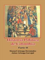 Historia Política de Colombia Parte II