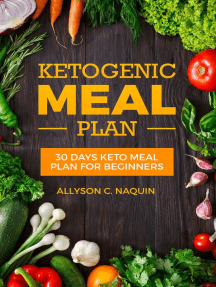 Keto meal Plan: 30 Days Keto Meal Plan For Beginners