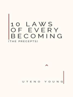 10 Laws of Every Becoming