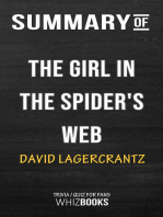 Summary of The Girl in the Spider's Web by David Lagercrantz | Trivia/Quiz for Fans