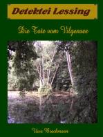 Die Tote vom Vilgensee. Detektei Lessing Kriminalserie, Band 7. Spannender Detektiv und Kriminalroman über Verbrechen, Mord, Intrigen und Verrat.