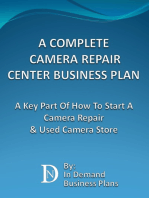 A Complete Camera Repair Center Business Plan