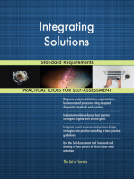 Integrating Solutions Standard Requirements