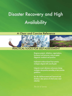 Disaster Recovery and High Availability A Clear and Concise Reference