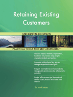 Retaining Existing Customers Standard Requirements