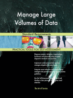 Manage Large Volumes of Data Standard Requirements