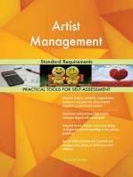 Artist Management Standard Requirements