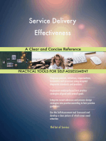 Service Delivery Effectiveness A Clear and Concise Reference