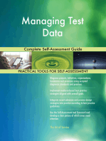 Managing Test Data Complete Self-Assessment Guide