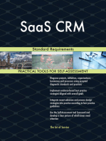 SaaS CRM Standard Requirements