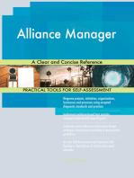 Alliance Manager A Clear and Concise Reference