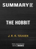 Summary of The Hobbit by J.R.R. Tolkien | Trivia/Quiz for Fans