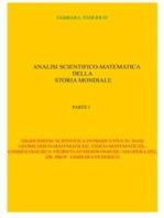 Analisi scientifico-matematica della storia mondiale. Parte I
