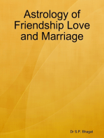 Astrology of Friendship Love and Marriage