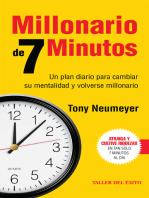 Millonario de 7 minutos: Un plan diario para cambiar su mentalidad  y volverse millonario