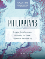 Philippians [FOCUSed15 Study Series]