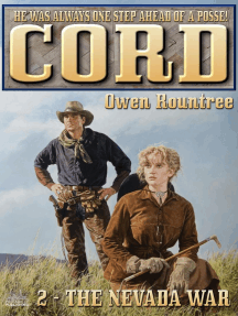 Cord 2: The Nevada War (A Cord and Chi Western)