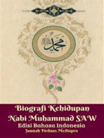 Biografi Kehidupan Nabi Muhammad SAW Edisi Bahasa Indonesia
