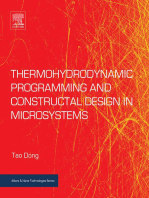 Thermohydrodynamic Programming and Constructal Design in Microsystems