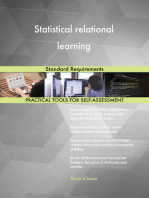 Statistical relational learning Standard Requirements