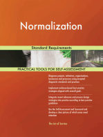 Normalization Standard Requirements