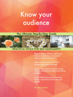 Know your audience The Ultimate Step-By-Step Guide