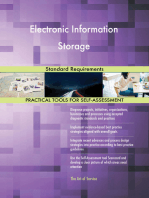 Electronic Information Storage Standard Requirements
