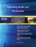 Operating Model and Governance Standard Requirements