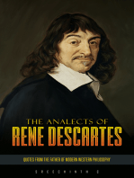 The Analects of Rene Descartes