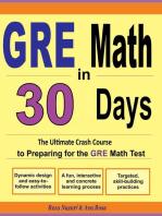 GRE Math in 30 Days