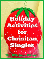 Holiday Activities for Christian Singles 2nd Edition