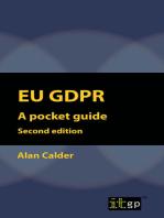 EU GDPR - A Pocket Guide (European) second edition