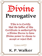 Divine Prerogative