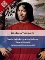Storia della letteratura italiana del cav. Abate Girolamo Tiraboschi – Tomo 6. – Parte 3