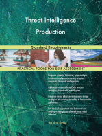Threat Intelligence Production Standard Requirements