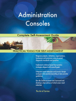 Administration Consoles Complete Self-Assessment Guide