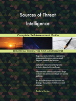 Sources of Threat Intelligence Complete Self-Assessment Guide