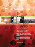 Value Articulation Standard Requirements