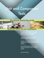Unit and Component Tests The Ultimate Step-By-Step Guide