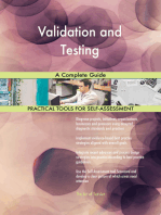 Validation and Testing A Complete Guide