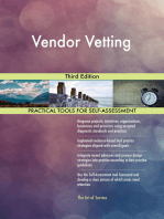 Vendor Vetting Third Edition