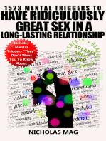 1523 Mental Triggers to Have Ridiculously Great Sex in a Long-Lasting Relationship