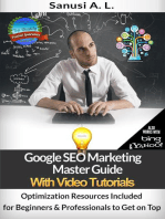 Google SEO Marketing Master Guide with Video Tutorials